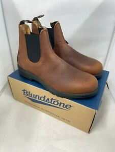 Mens Blundstone 1445 Classic Pull On Chelsea Leather Ankle Boots Size UK 10