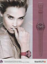 Publicité Advertising 2011  //   Montres SWATCH