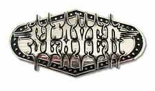 """SLAYER """"DOTTED OUTLINE"""" METAL BELT BUCKLE - NEW OFFICIAL BAND MUSIC"""