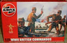 AIRFIX - WWII BRITISH COMMANDOS   - MINT & BOXED/UNOPENED - A01732 - 1:72