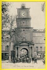cpa SALON de PROVENCE (Bouches du Rhône) La TOUR de l'HORLOGE Animés Librairie