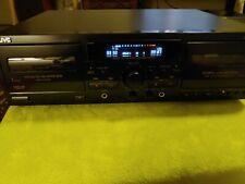 Jvc Td-W354Bk Auto Reverse Dual/Double Cassette Deck Player Recorder Pitch Contr
