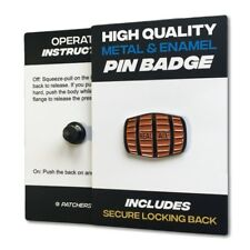 Real Ale Beer Barrel Quality Metal & Enamel Pin Badge with Secure Locking Back
