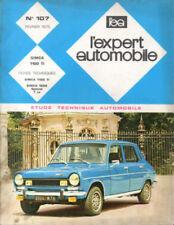 RTA revue technique automobile n° 107 SIMCA 1100 TI
