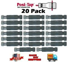Posi-Tap PTA1218M (EX-255) Reusable Wire tap 12-18 Awg, 20 pack, TWENTY pcs. NEW