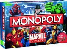 Monopoly Marvel Universe Brettspiel X-Men The Avengers Spiderman Ironman Deutsch