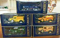 LLEDO Liberty Classics Ford models Castrol Schweppes Colmans Shell Hamleys 1:25