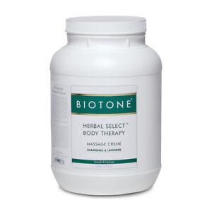 Biotone Herbal Select Therapy Body Massage Creme (1 Gallon)