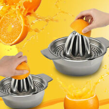 1X Stainless Steel Lemon Orange Lime Squeezer Juicer Hand Press Kitchen Tool NEW
