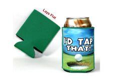 Golf Can Cooler - I'd Tap That!, 12oz Can Cooler, Golf gifts, Golf Beverage Insu