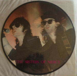 LP Picture The Sisters Of Mercy – We're All Aware Of That goth dark Live