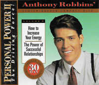 ANTHONY ROBBINS How to Increase Your Energy & Successful Relationships CD Audio
