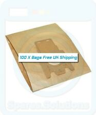 Vacuum Cleaner Dust Bags for Miele S711 S711-1 S712 -Pack Of 100- FJM Type