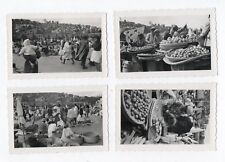 Lot PHOTOS ANCIENNES Opticam Tananarive Antananarivo Madagascar Marché vers 1950