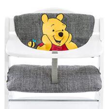 Hauck Hochstuhlauflage & Sitzverkleinerer - Disney Deluxe - Winnie Pooh Grey