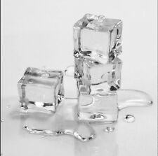 15PCS/Pack Fake Artificial Acrylic Ice Cubes Crystal Clear 2x2cm Square
