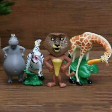 Madagascar Toys Cake Toppers Birthday Decoration Kids Party Bag Marty