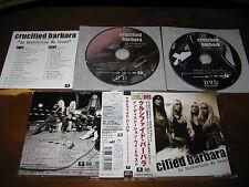 Crucified Barbara / In Distortion We Trust JAPAN+3 CD+DVD Phantom Blue OOP!!! *Q