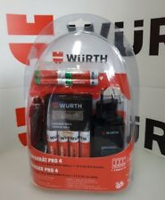 WURTH CARICABATTERIE NiMH/NiCd USB E AUTO  AA+AAA 8 BATTERIE INCLUSE DISPLAY LCD