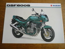 SUZUKI GSF 600S MOTORBIKE BROCHURE, POST FREE (UK)
