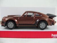 Herpa 030601 Porsche 930/911 Turbo (1980) in kupfermetallic 1:87/H0 NEU/OVP