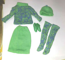 VINTAGE BARBIE MOD FRANCIE DOLL 1250 GAD ABOUTS OUTFIT W STOCKINGS AND BOOTS LOT