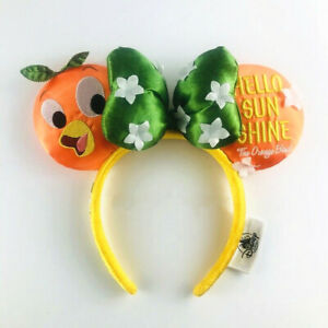 Disney Orange bird Headband Ears Flower and Garden 2020