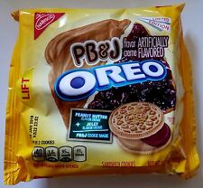 NEW Nabisco Oreo Peanut Butter & Jelly PB&J Limited Edition Cookies FREE SHIPPIN