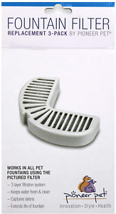 Pioneer Pet  Filters for Ceramic & Stainless Steel Fountains, Raindrop Filters