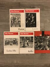 Ciba Review 1949-56 Lot Of 5