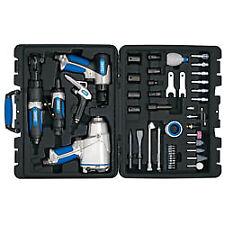 """Draper Tools Air Tool Kit 50 Stück 1/2"""" Auswirkungen Pistole Luft MEIßEL sterben Schleifmaschine 84129"""