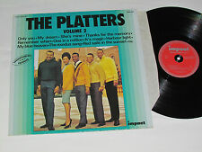 THE PLATTERS Volume 2 LP Impact Records Made in France Vinyl Album BEST OF HITS