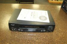 Sharp Vc-H822 Vcr 4Head Hi-Fi Jm-0388