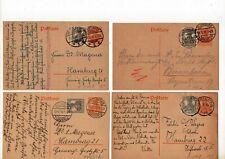 Deutsches Reich , Sammlungsauflösung ,Germania  Lot Ganzsachen-20 Stück