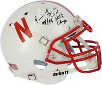 "Tommie Frazier Nebraska Signed Authentic Helmet & ""94 & 95 Natl Champs"" Insc"