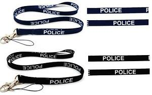 POLICE HIGH QUALITY LANYARD NECK STRAP IDEAL FOR MOBILE ID KEY IPOD HOLDER