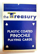TREASURY DRUGS Vintage Deck of PINOCHLE Playing Cards Division of J C Penney Co