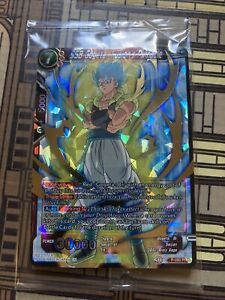 Sealed SSB Gogeta, Fusion's Pinnacle P-093 PR Dragon Ball Super Card Game