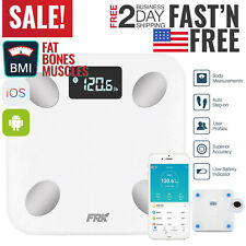 Bathroom Scales Weight Scale Smart Body Fat Bones BMI Digital Electronic Fitness