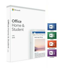 MICROSOFT OFFICE HOME AND STUDENT 2019 LICENSE USB 1PC WINDOWS 10 LIMITED STOCK