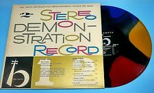 Bel Canto Stereophonic Demonstration Record SR-2000 Multicolored Rainbow LP 1959