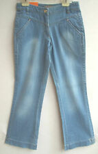 DOWN OVER by SANETTA Girls -Stretch-Jeans light blue Gr.146 SLIM NEU Knaller
