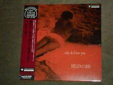 Helen Carr Why Do I Love You Japan Mini LP sealed