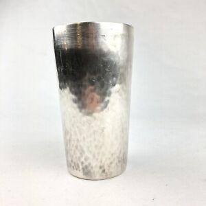 WMF Cocktail Shaker ~ Art Deco ~ versilbert ~ Hammerschlagdekor ~ Antik ~ NS