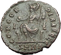 ARCADIUS 401AD Authentic Ancient Roman Coin CONSTANTINOPOLIS Rare Type i65023