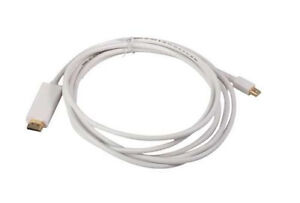 15Ft (15 Feet) Mini DisplayPort/Thunderbolt to HDMI Male Cable w/Audio Output