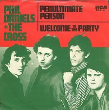 7inch PHIL DANIELS & THE CROSS penultimate person HOLLAND 1979 +PS EX