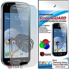 4 Pellicola Opaco Per SAMSUNG Galaxy Trend S7560 - i699 Antiriflesso Antimpronta