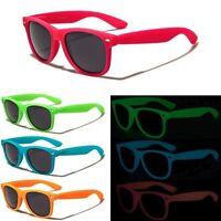 Glow in The Dark Party Club Costume Cool Neon Glasses Retro Sunglasses