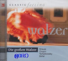 I grandi valzer + CD + CLASSIC Feeling + Strauss + Chopin + Tchaikovsky tra l'altro
